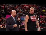 Randy Orton invades Raw to attack Brock Lesnar- Raw, Aug. 1, 2016