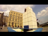 New Extreme Sport- Trampoline Wall. Christophe Hamel Demo 2012