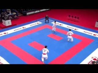 Karate Japan vs Italy. Final Male Team Kata. WKF World Karate Champions 2012. 空手日本