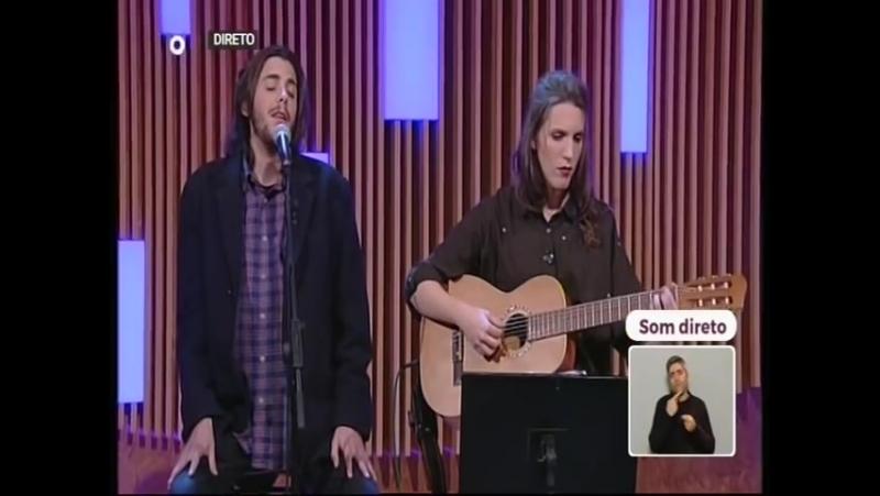 Salvador Luisa Sobral - Amar pelos dois (acoustic guitar version)