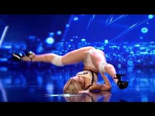 Эффектный танец Антонины Голосеевой на румынской версии шоу талантов