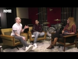 Mike and Chester from Linkin Park live at NME
