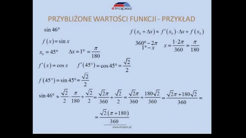 Lekcja 3 Obliczanie przybliżonych wartości wyrażeń Obliczanie stycznej i normalnej do krzywej chomik reflex