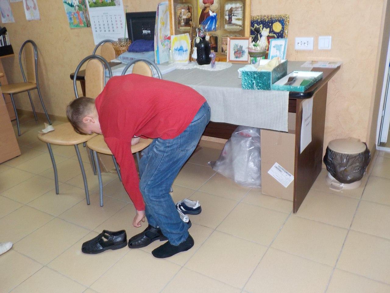 Марафон раздачи обуви