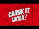 Kideko George Kwali - Crank It (Woah!) feat. Nadia Rose Sweetie Irie Official Audio