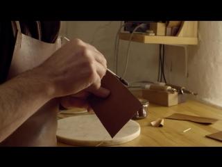 Making of the Lloyd Coat Wallet