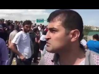 Yasamal rayonunun Qanlıgöl deyilən ərazisində polislə sakinlər arasında qarşıdurma yaranıb.