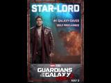 Стражи Галактики. Часть 2 _ Живой постер