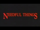 Нужные Вещи  Needful Things (1993) Трейлер Eng