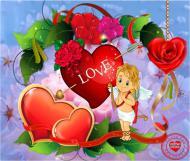 Любовь это Божий дар. Сердца признания в любовь. Пусть это длиться вновь и вновь!