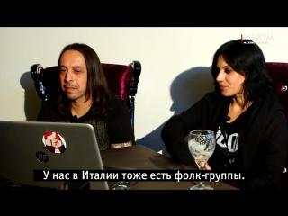Lacuna Coil смотрят русские клипы! (2017) (Видеосалон №74) Журнал MAXIM