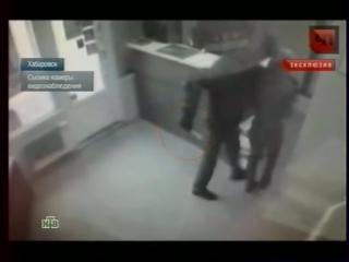 Убийство продавца в салоне моб связи попало на камеру