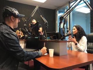 Потап и Настя на Rusa Radio (Нью-Йорк 3.05.17)