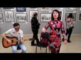 Маша Дождь и Дамир на открытии Ural Art Week 05.04.17