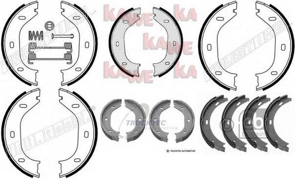 Комплект тормозных колодок, стояночная тормозная система для ALFA ROMEO 6 (119)