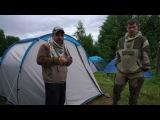 Хорошая кемпинговая палатка Arpenaz family 4.1 от Декатлона