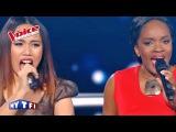 The Voice 2016  Lica VS Mirella - Avant Toi (Calogero)  Battle