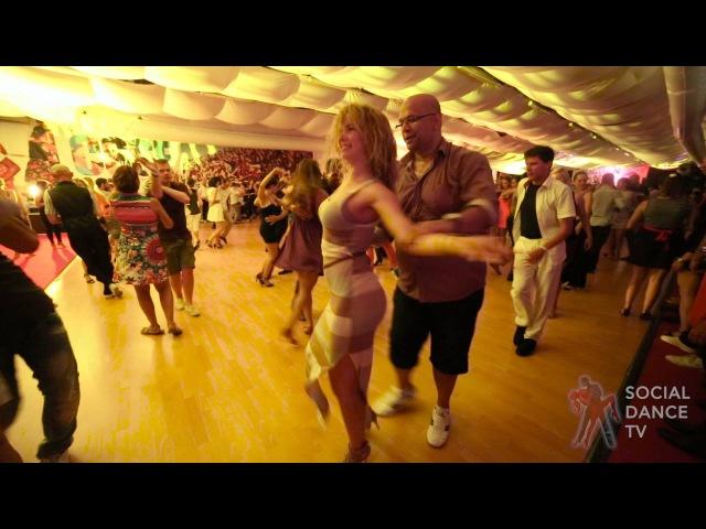 Super Mario Kristina Mazur salsa dancing at 12th CSSF, Rovinj 2016!