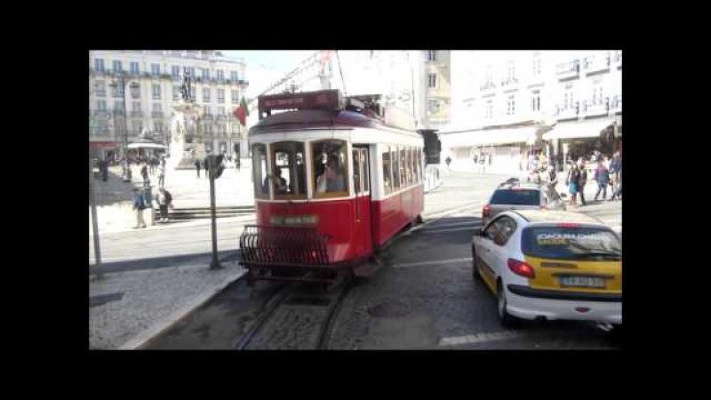 Lisbon tram 28 Lissabon Straßenbahn Carris Lisboa Villamos