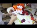 Мастер класс Крепёж съёмной игрушки на каркас букета