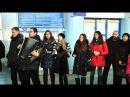 Луганск поёт! ОЧЕНЬ ТРОГАТЕЛЬНО! До слёз! - песенный флешмоб