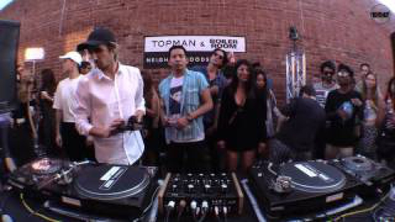 Sage Caswell Topman Neighborhoods x Boiler Room Los Angeles DJ Set