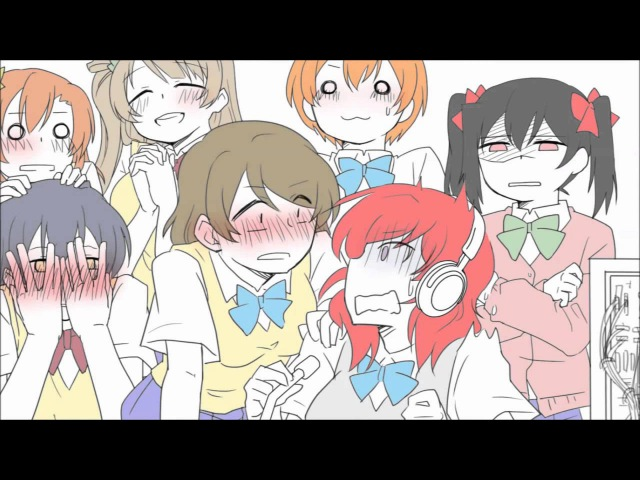 [Love Live!] Flower Garden of Glass [Hand-drawn MAD]