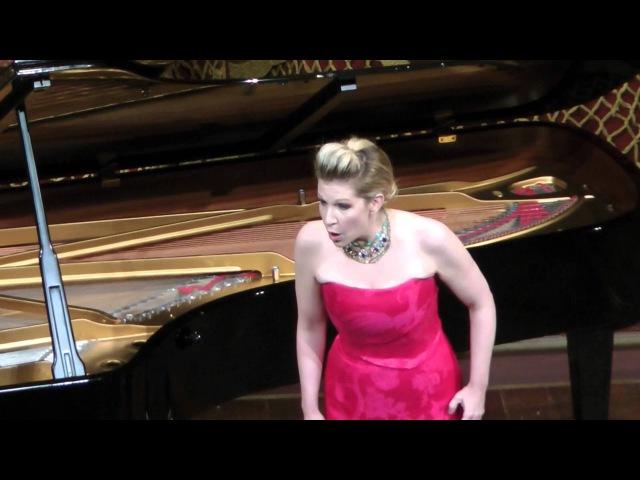 Joyce DiDonato - Voi che sapete - Mozart- Teatro Colón 2012