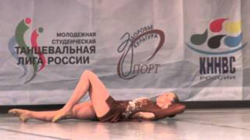 00378 БТО 2015. European Championship. Jazz Dance. Юниоры, соло девушки, финал