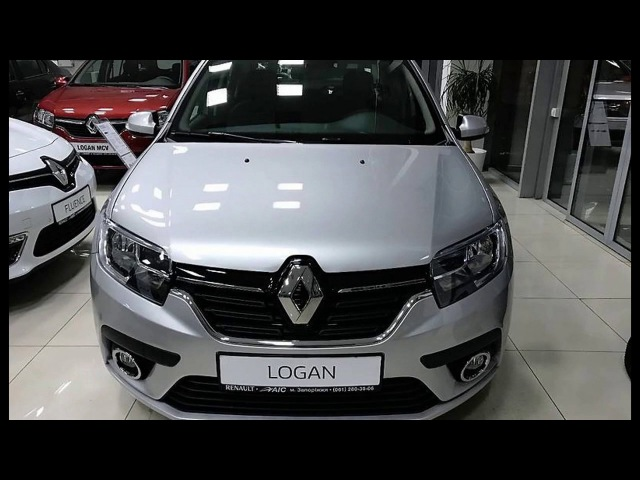Обновленный Рено Логан 2017 года/Updated Renault Logan 2017