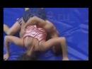 FBB 054 Luzia vs David   Hot Mixed Wrestling   Real Female vs Male Fight