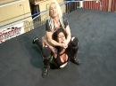 Lillian vs Tylor Female Wrestling