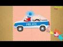 Мультики Машинки для детей Мультик пазл! Полицейская Пожарная машина у ВИДЕО д ...