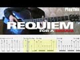 Реквием по мечте | Разбор на гитаре (Requiem for a Dream) ТАБУЛАТУРА | Уроки гитары от PlayThi...