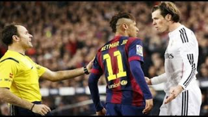 Неймар - Драки и схватки за Барселону | Злой Неймар