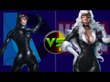 Женщина кошка(Dc) против Чёрной кошки(Marvel)
