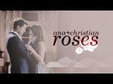 christian + anastasia | roses