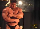 handsome bodybuilder Johnny Bravo muscle worship