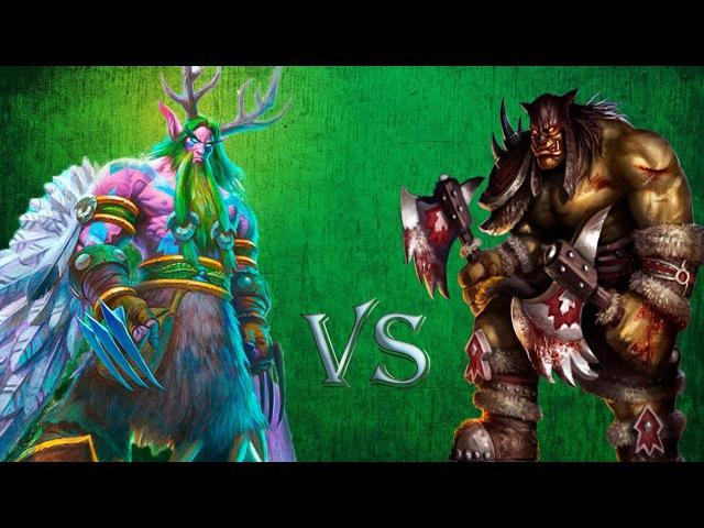 Как играть охотником против агро друида! Mid Range Hunter vs Aggro Druid!