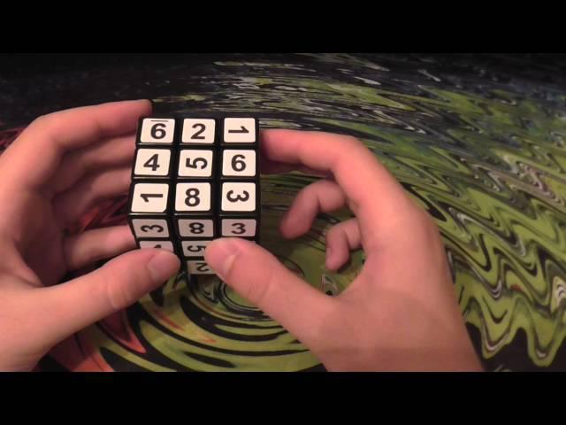 Судоку Куб. Sudoku Cube. 1 слой