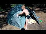 Отдых на природе с палаткой 2015 Camping with a tent 2015