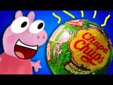 Что внутри редкого яйца чупа чупс? Узнай! Новая серия Литл Панды и его друзей Свинка Пеппа   Пепа   Пэпа   Пэппа   Peppa Pig