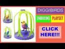 Playset DigiBirds. Unboxing Toys Review. Обзор и распаковка игрушки ДиггиБердс
