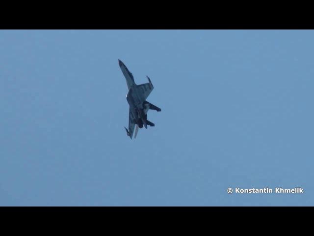 Высший пилотаж Су-35.