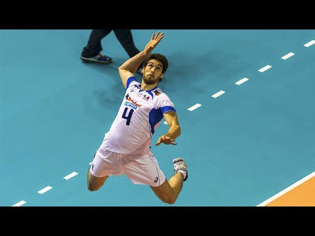 TOP 20 Volleyball Attacks By Luca Vettori