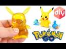 DIY POKEMON GO PIKACHU GUMMY! How To Make Pokemon Pikachu Figure Jelly - Pocket Monsters For Kids