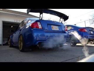450HP 2014 Subaru Impreza WRX STi Cold Start, Rev, And Walk Around