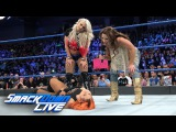 Mickie James and Alexa Bliss ambush Becky Lynch SmackDown LIVE, Jan. 24, 2017