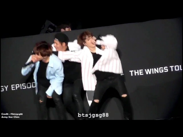 170702 BTS Love Moments Wings Tour in Sapporo Fancam