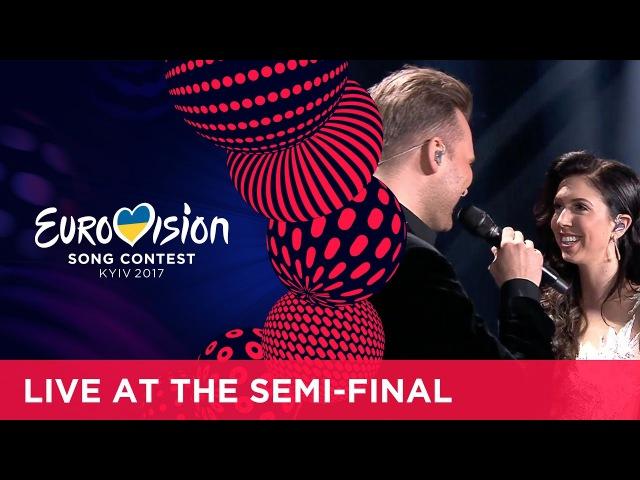 Koit Toome Laura - Verona (Estonia) LIVE at the second Semi-Final